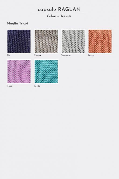 Tessuti maglia Raglan