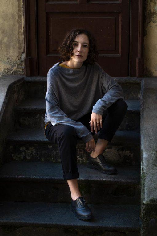 Nicoletta Fasani Maglia Uovo